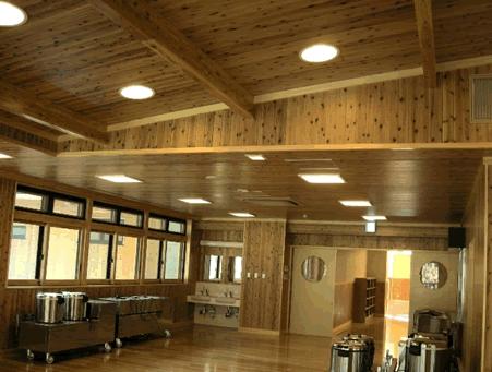 吹田市青少年野外活動センター再整備工事(電気設備工事)